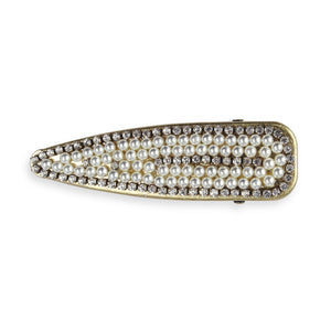 Pearly Queen Wide Hair Slide