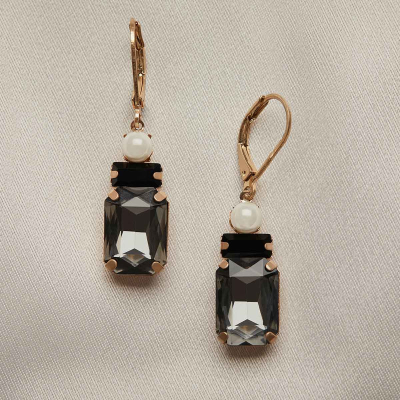 Art Deco Oblong Earrings