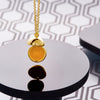 Plated Opening Ball Pendant