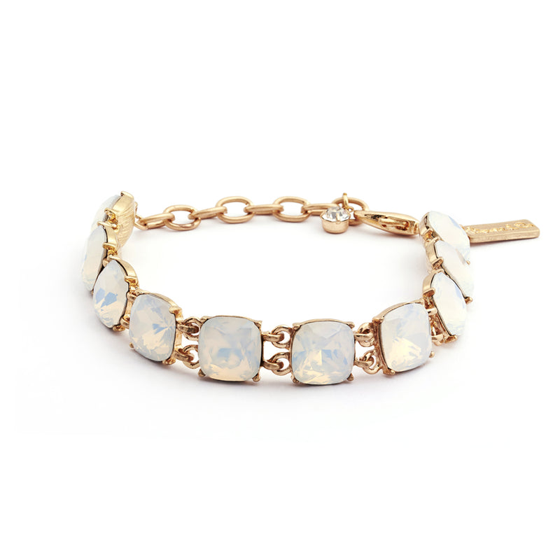 Cushion Cut Stone Bracelet