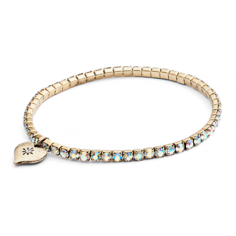 Picture of Diamante Stretch Bracelet (Turquoise)