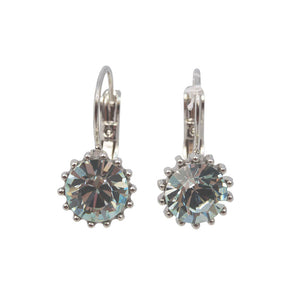 French Clip Swarovski Earrings