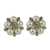 Picture of Audrey Hepburn Clip on Pearl Earrings (Cream)