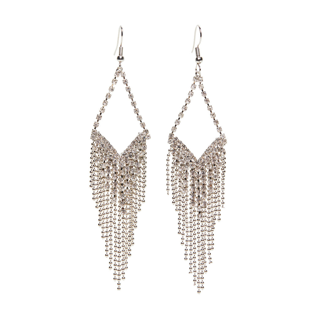 Diamante Cascade Earrings