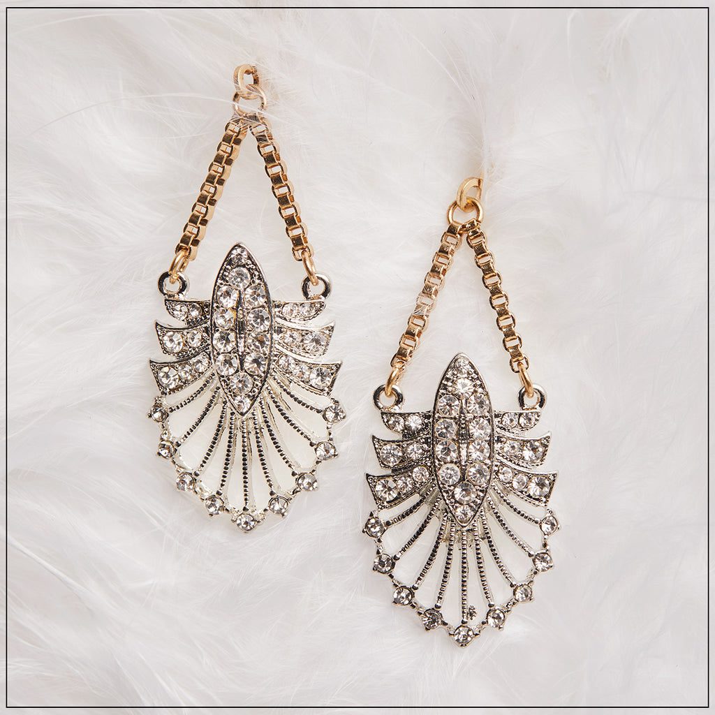 Deco 1920s Drop Earrings