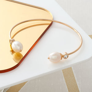 Cultured Pearl Bangle