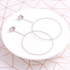 Circle Drop Earring