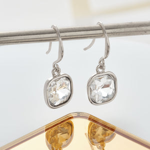 Square Cut Drop Earring