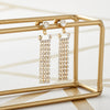Statement Diamante Drop Earring