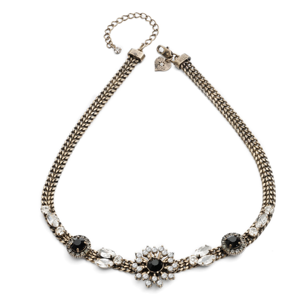 Baroque Starburst Collar Necklace
