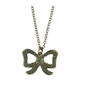 Vintage Style Bow Necklace