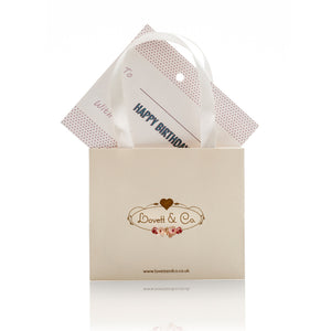 Happy Birthday Postcard With Diamante Bracelet 'The Secret To A Good Life..'