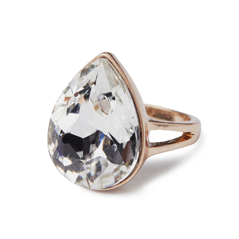 Liz teardrop ring