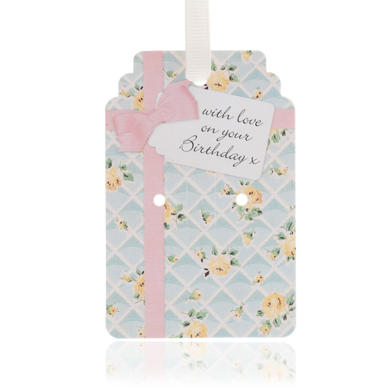 Picture of Rose Trellis Birthday Gift Tag Pack of 10