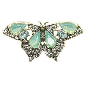 Picture of Butterfly Brooch Pin in Pacific Opal