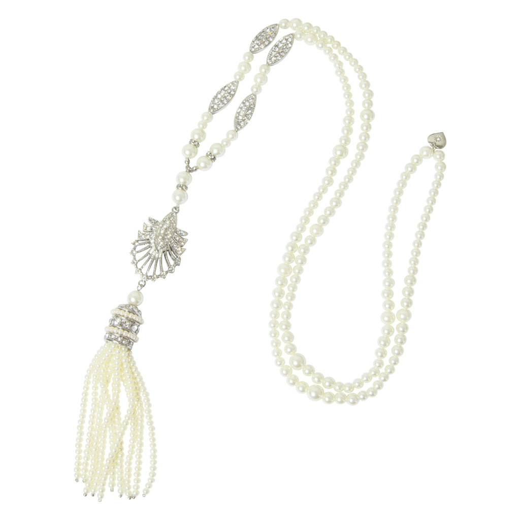 Deco Tassel Necklace