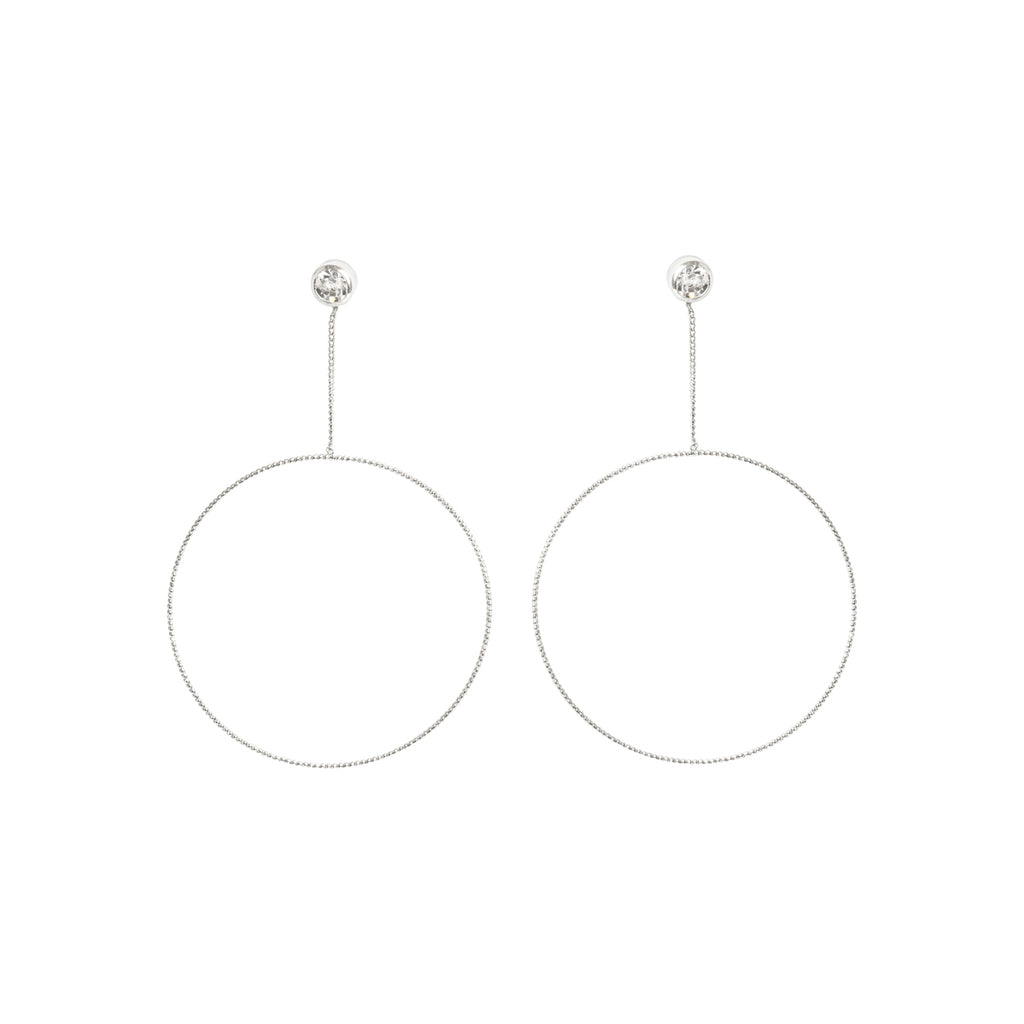 Picture of Large Open Circle Drop Earring