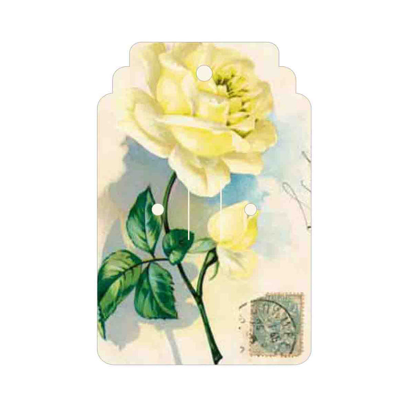 Lemon Rose Tag
