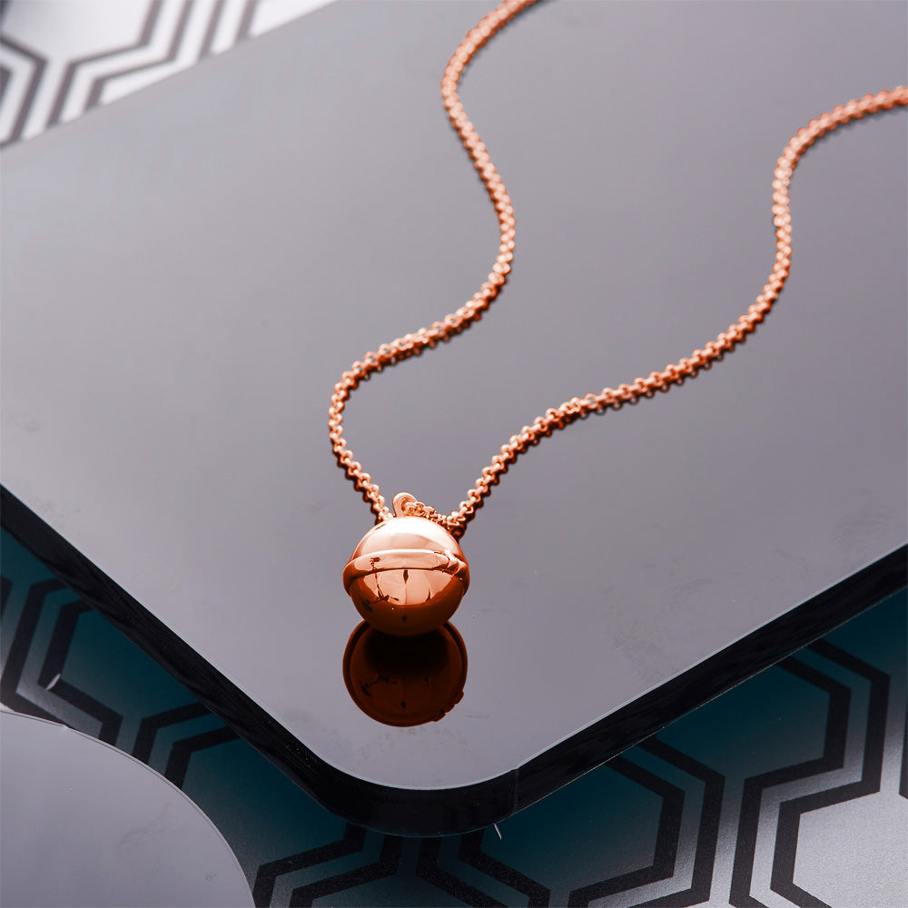 Picture of Rose Gold Plated Opening Ball Pendant
