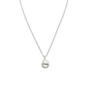 Plated Ball Pendant Necklace