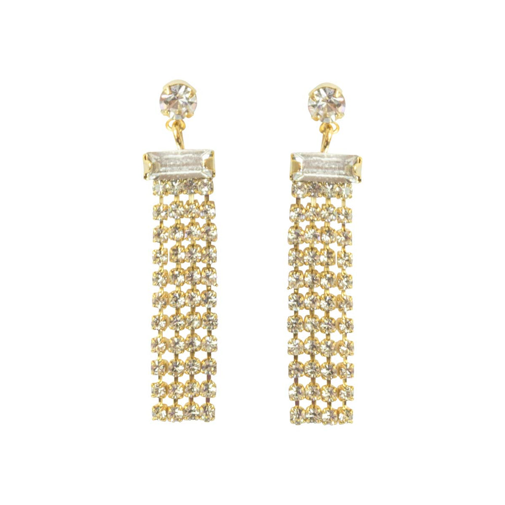 Picture of Statement Diamante Drop Earring