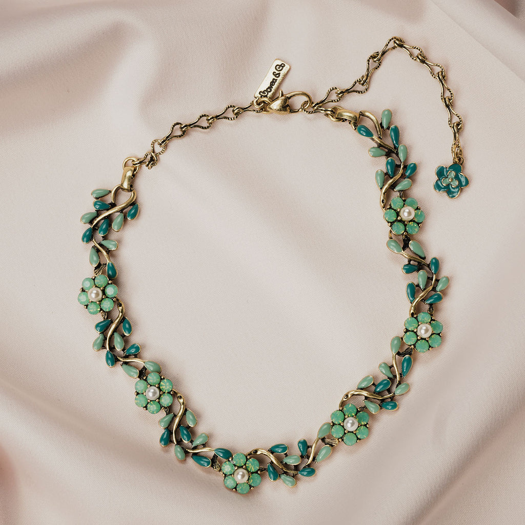 Vintage Vine Necklace