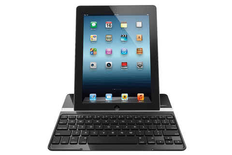 Logitech Ultrathin iPad cover forside vertikalt