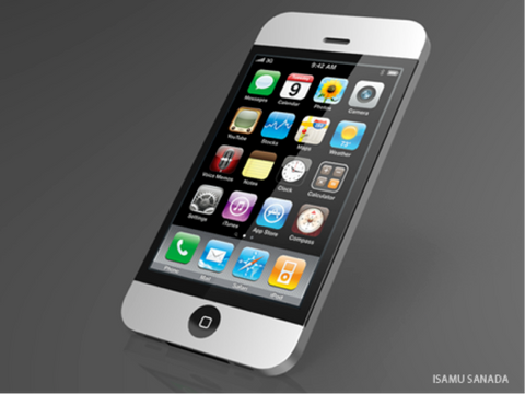 iPhone 5 - Design udkast