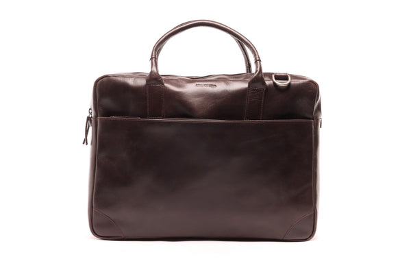 Explore Laptop Bag Double - Brun