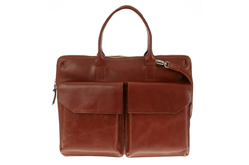 New Courier Day Bag Cognac