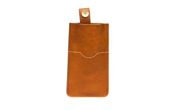 PAP iPhone 6 / 7 / 8 læder sleeve Tan