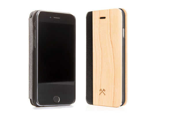 iPhone 5 Ecoflip Comfort Maple