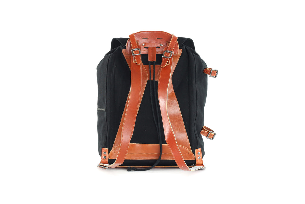 Legioner Canvas Backpack Sort