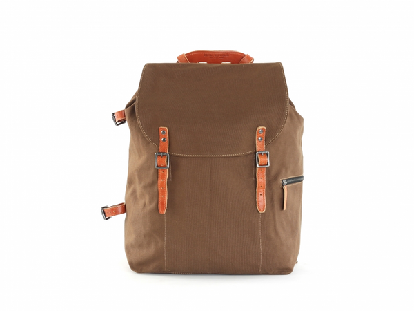 Legioner Canvas Backpack Camel