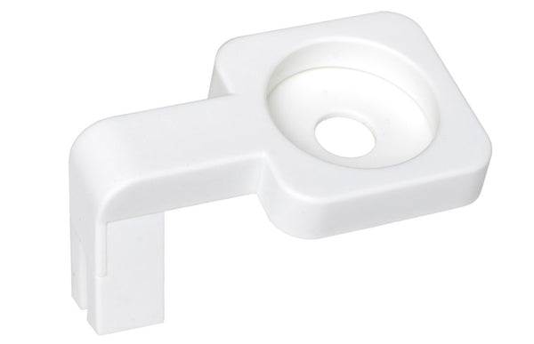 ALLDOCK Apple ur holder, hvid