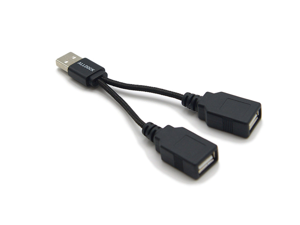Image of   ALLDOCK Split Cable USB Sort