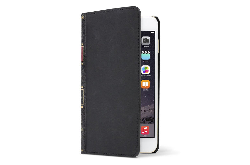 Image of   BookBook til iPhone 6 Plus Sort
