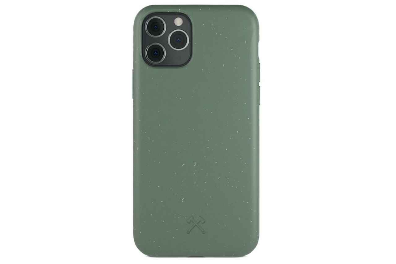 Biocase iphone 11 pro grøn fra woodcessories på coverme
