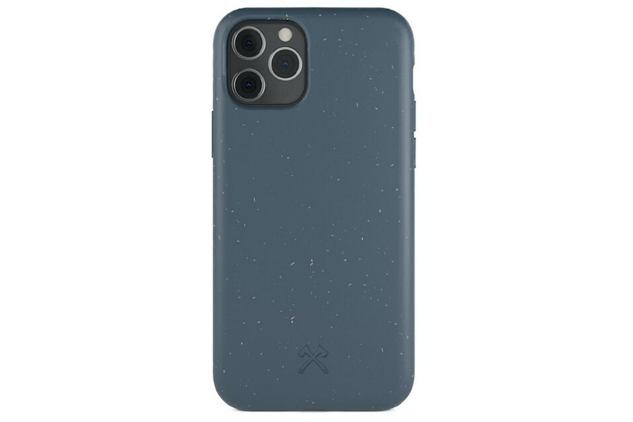 Biocase iphone 11 pro blå fra woodcessories på coverme