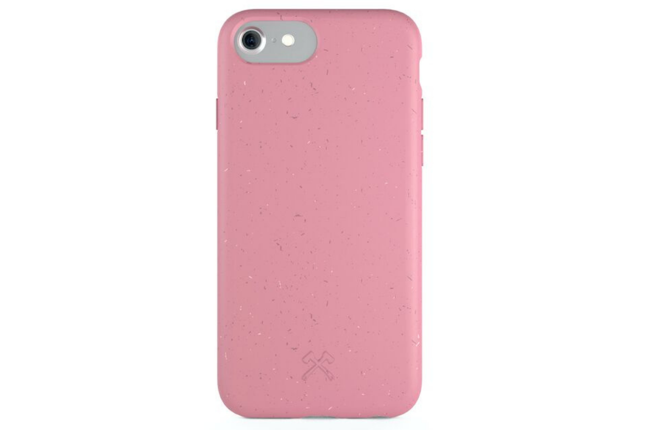 woodcessories – Biocase iphone 6/7/8/se pink på coverme
