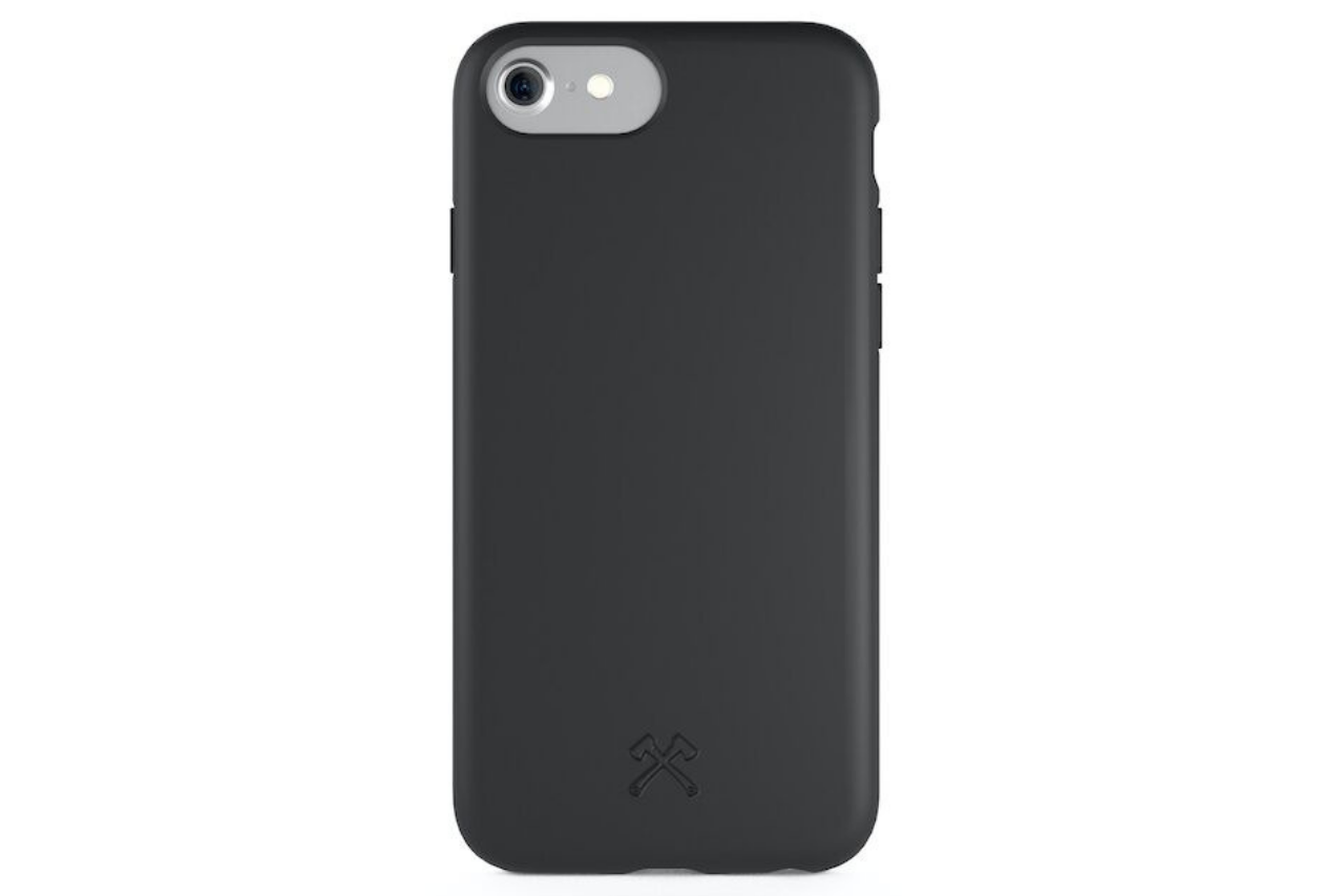 Biocase iphone 6/7/8/se sort fra woodcessories fra coverme