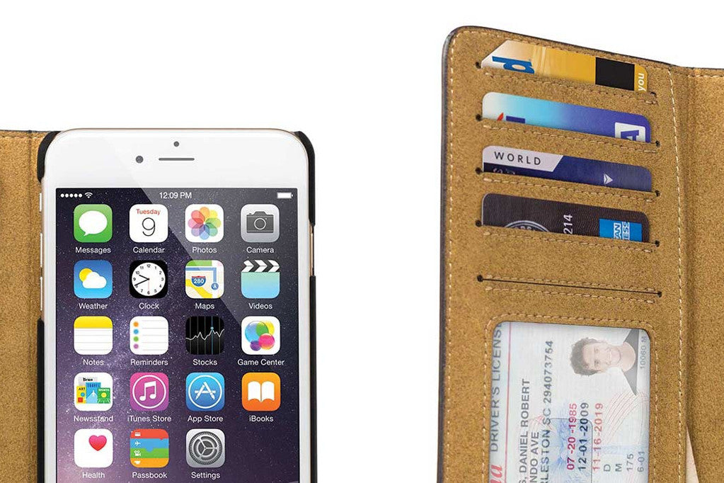 BookBook til iPhone 6 Plus Sort
