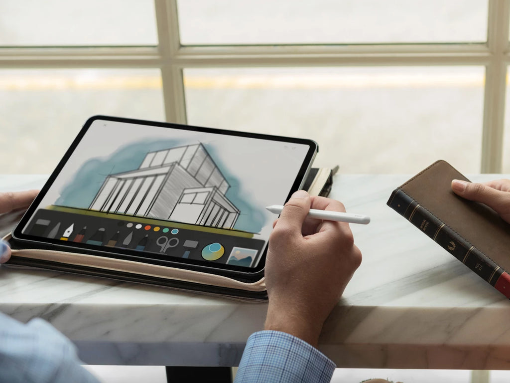 BookBook iPad 12.9 (USB-C) Brun