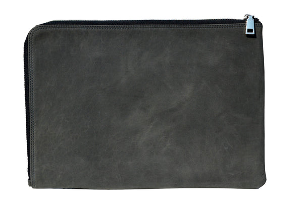 "MacBook 13"" Læder Sleeve Antracit"