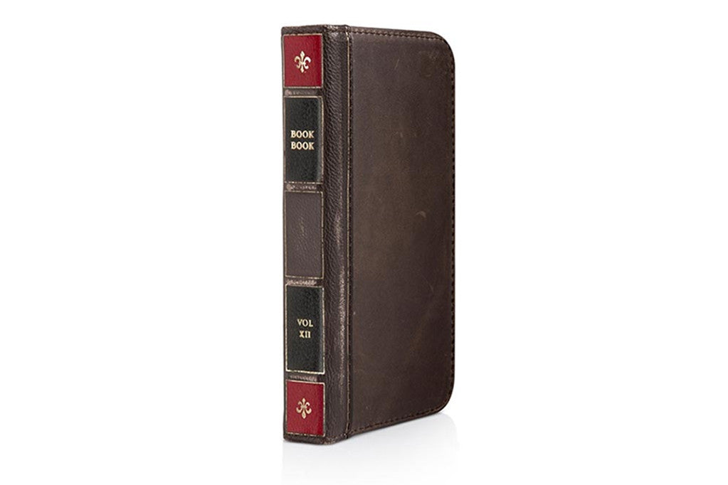 Image of   BookBook til iPhone 5/5s Brun