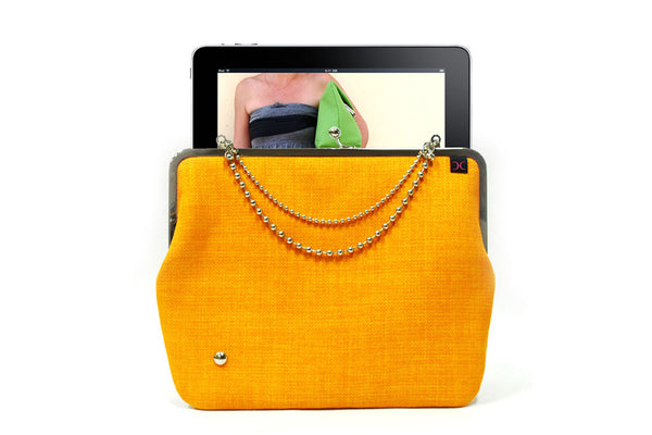 Clutch iPad cover - Orange