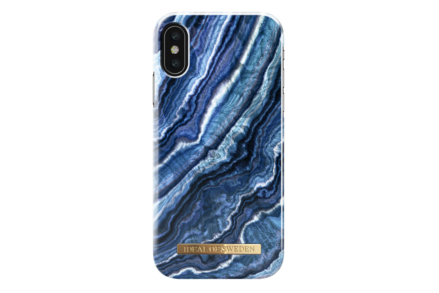 Ideal indigo swirl iphone x/xs fra ideal of sweden på coverme