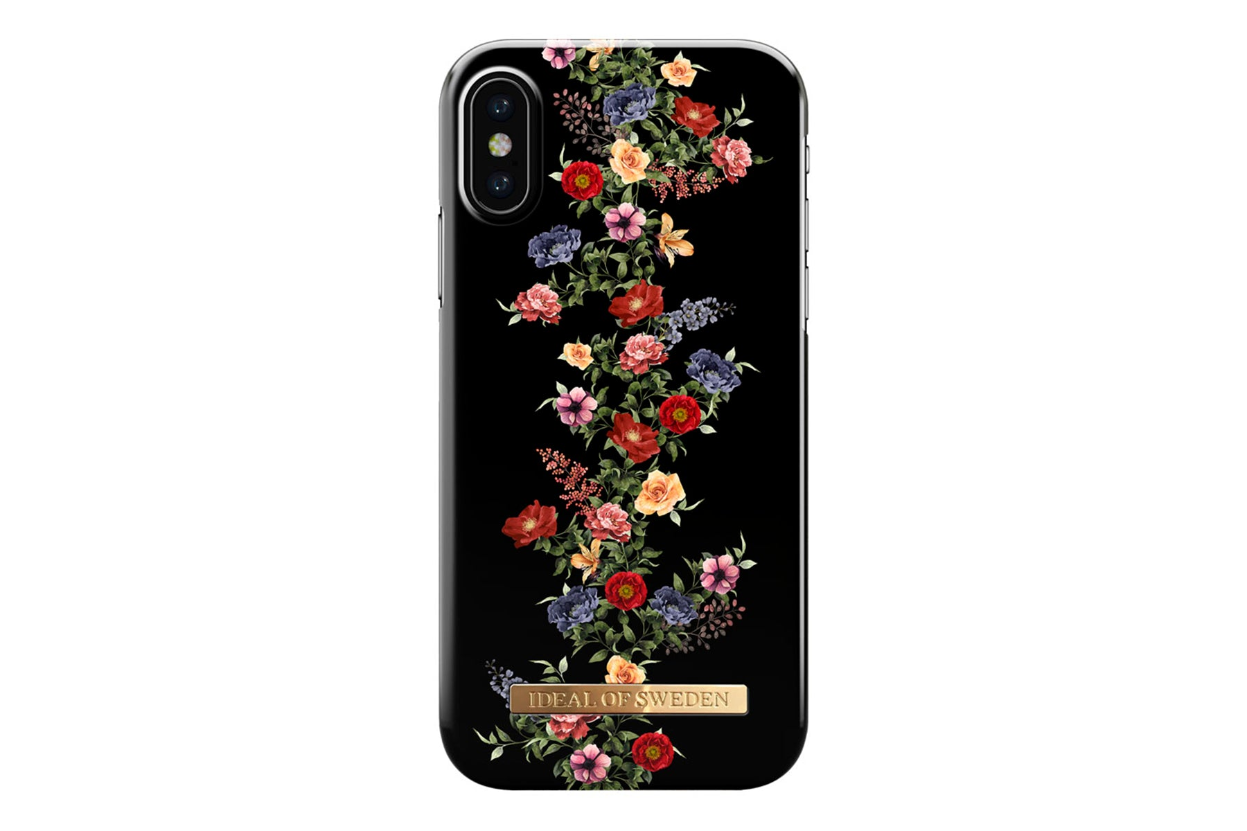 ideal of sweden Ideal dark floral iphone x/xs fra coverme