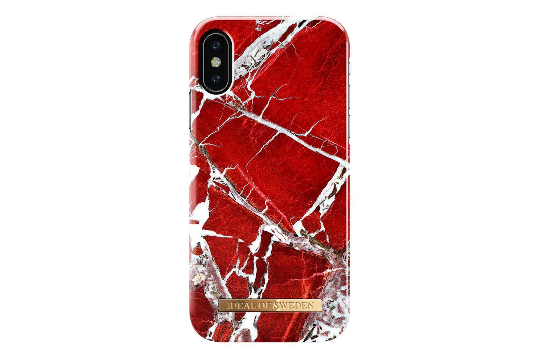 Ideal scarlet red iphone x fra ideal of sweden på coverme