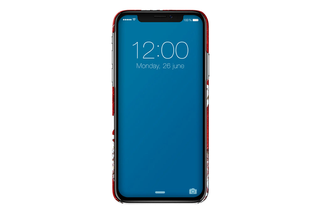 IDEAL Scarlet Red iPhone X